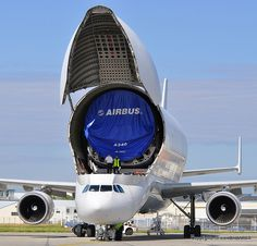 Airbus A300-600 Supertransporter Beluga 5 F-GSTF & Airbus part N1350