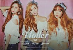 TAETISEO SNSD GIRLS' GENERATION  Holler Official Poster K-POP  #PopArt