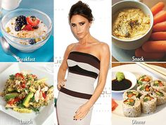Victoria Beckham can thank the Alkaline Diet for her slender figure. The plan focuses