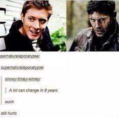 Still freaking attractive • Supernatural • Dean Winchester • Jensen Ackles