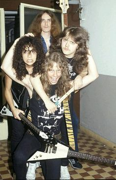 This is so cute. Baby metallica with cliff