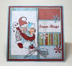 Jean Franks Beck: Christmas in July using RRD's Snow Hugs collection