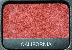 NARS Red california eye shadow
