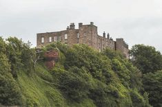 Wemyss Castle, Fife - oldest parts date to C15. Not open to the public
