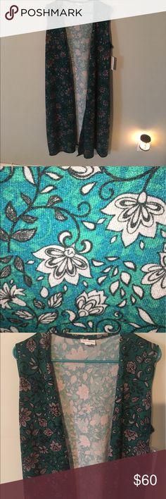 #LuLaRoe #Joy #Vest #Soft #Floral NEW L #LuLaRoe #Joy #Vest #Soft #Floral NEW L LuLaRoe Tops