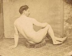 A male model poses in the studio of Jean-Louis Marie Eugène Durieu usually known by just the final of his many forenames). Seated on a threadbare and fraying tasselled cushion of sorts, at. Holland, Male Models Poses, Marvel Photo, Famous Photographers, Male Form, Life Drawing, Vintage Men, Erotic, Romantic