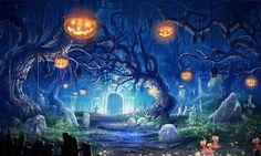 computer wallpaper for halloween  by Rayford Stevenson (2017-03-19)