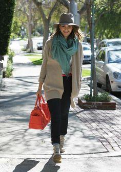 Os 30 looks mais estilosos de Jessica Alba em 2014