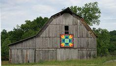 Quilt Barn - Mountain Variation -   Blaine, TN
