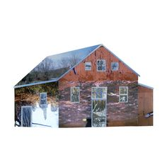 Liesl Pfeffer 'Dwellings' 2015  Topsham II, Maine, USA