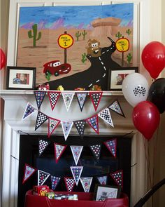 "Photo 29 of 54: Disney Cars/Children / Birthday ""Disney Cars Double Birthday "" 