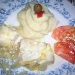 Lombinhos de pescada com maionese