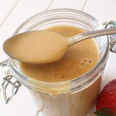 Caramel Sauce • THM • Low Carb • Sugar Free • Gluten Free