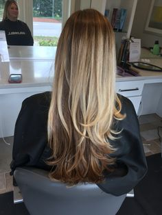Balayage Dark underneath Two tone Color melt Root melt Bree Salon Ask for  Lindsay