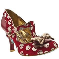 Think these will be my first pair of Irregular Choice shoes but can't decide on this colour or the black?!