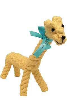 Jax and Bones Jerry The Giraffe Good Karma Rope Dog Toy Best Price