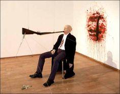 Gilles Barbier, Paysage mental (Loch Ness), 2003. http://www.paris-art.com/interview-artiste/gilles-barbier/barbier-gilles/149.html