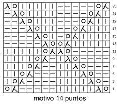 puntos calados a dos agujas ile ilgili görsel sonucu