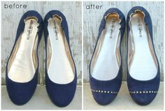 How To Make Studded Ballet Flats