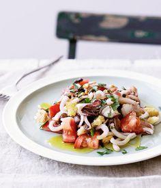Sicilian calamari salad :: Gourmet Traveller