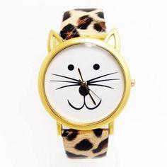 Trás el éxito de ventas y tantas peticiones para que repongamos el reloj gato leopardo .... YA LO TENEIS DISPONIBLE DE NUEVO EN LA WEB ❗FELIZ FIN DE SEMANA❗⬇ http://www.misstendencias.com/29-relojes #tendencias #relojes #gatos #leopardo #cool #chic #complementos #blogger #regalosoriginales #dateuncapricho #felizfindesemana #moda #style #outfit #like #love #selfie #friends