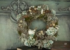 Decomagia - Natural wreath art and physical by Maja Zagorska Floral Wreath, My Arts, Wreaths, Nature, Home Decor, Style, Swag, Floral Crown, Naturaleza