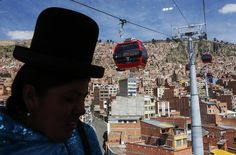 For many Bolivians, the Teleférico is a symbol that the country has arrived. Opened in May, its two other sections will arrive conveniently as President Evo Morales seeks a third term.