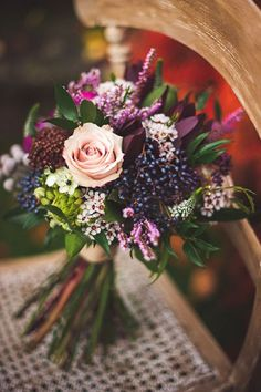 Deciding on your bridal bouquet? Prepare to be botanically blown away with the most beautiful blooms on Pinterest to help you find a style that's perfect for you