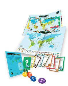 Fairo kit : educatief pakket van Fairtrade@school : ontdek spelenderwijs waar onze voeding vandaag komt & wat eerlijke handel is.