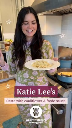 TV Host Katie Lee isn't giving up pasta anytime soon – and she doesn't have to with WW! See more of her weight loss journey and try her yummy recipes.