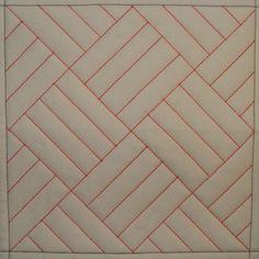 Tutorial on 9 DSM quilting MQ1 Straight Line Grid