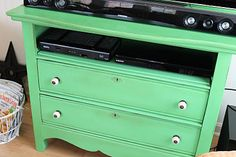inspiration for my dresser turned tv stand