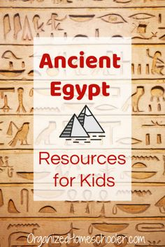 These Ancient Egypt activities for kids are great for a unit study or school project. Check out these Ancient Egypt history resources - hands-on activities, crafts, books, videos, and even field trips. Ancient Egypt Activities, Ancient Egypt For Kids, Ancient Egypt History, History Activities, Activities For Kids, Ancient Egypt Lessons, Ancient Egypt Crafts, World History Lessons, History For Kids