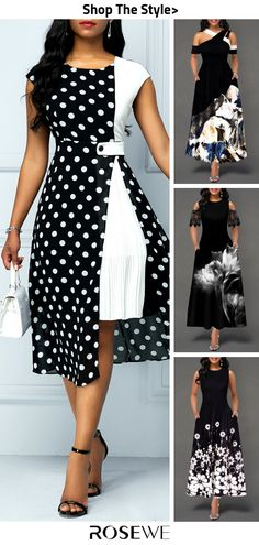 Best Fashion Dresses Part 10 Latest African Fashion Dresses, Women's Fashion Dresses, Dress Outfits, Casual Outfits, Black Dresses Online, Casual Party, Classy Dress, African Dress, The Dress
