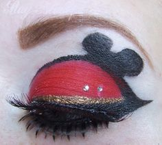 Mickey Eye Makeup <3