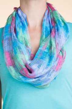 Type 1 Festival Of Color Scarf