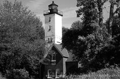 The old Lighthouse at Lake Erie