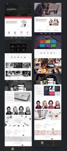 WPCLOUD v1.7 – Creative One-Page Theme