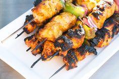 Gojee - Tandoori-Spiced Turkey Skewers by Crumb