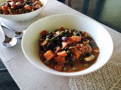 African Peanut and Sweet Potato Stew | Vegangela