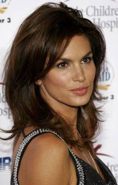 Cindy Crawford. I get my best haircuts when this photo goes with me.