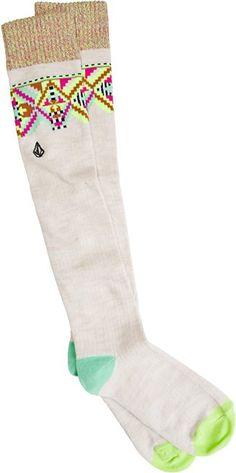 VOLCOM SNOW DAYS KNEE HI SOCK > Womens > Accessories > Socks | Swell.com