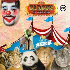 Circo pseudomasonico: el unico donde los payasos se aplauden a si mismos