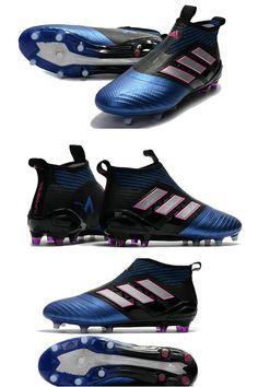 detailed look 5343d 6d4c8 La adidas ace 17+ Noir Bleu Tige respirante adidas Primeknit épousant  parfaitement la forme du pied pour offrir un maintien ajusté avec un  maximum de ...