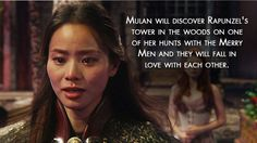 "Mulan will find love! | The 22 Most Convincing ""Once Upon A Time"" Fan Theories"