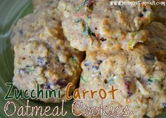 Zucchini-Carrot Oatmeal Cookies {#Recipe} - Mom On Timeout