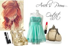"""""""Ariel's Prom Outfit"""" by chamillionair411 on Polyvore"""