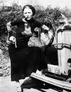 Anonymous, Bonnie Parker, ca. 1932 - 1934