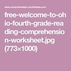 Reading Comprehension Test, Ohio, Fourth Grade, Free, Columbus Ohio