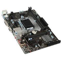 MSI H110M PRO-VD Plus Desktop Motherboard - Intel H110 Chipset - Socket H4 LGA-1151 - Micro ATX - 1 x Processor Support - 32 GB DDR4 Sdram Maximum RAM - 2.13 GHz Memory Speed Supported - Udimm, Dimm - 2 x Memory Slots - Serial ATA/600 - CPU Dependent Video - Intel - 7.1 Audio Channels - Gigabit Ethernet - 2 x PCI Express x1 Slots - 1 x PCI Express x16 Slots - 4 x USB Ports - VGA - DVI - 4 x Sata Interfaces DDR4 2XPCI-E USB 3.1 VGA DVI